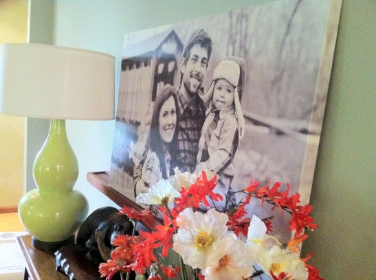 Wrapped Canvas with your photo