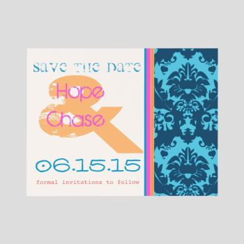 Funky Save the Date