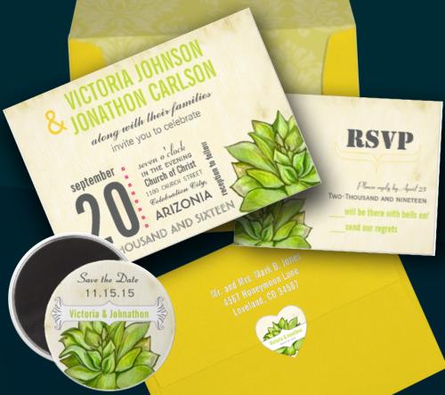 Vintage Teal Birds Damask Wedding Invitations